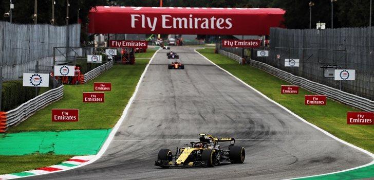 Sainz rueda en Monza