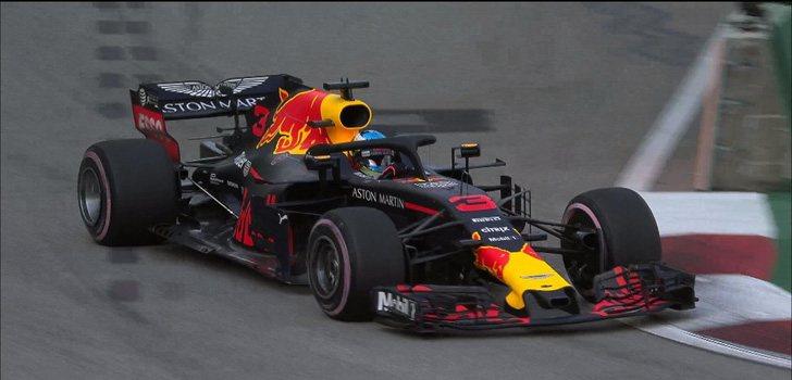 Daniel Ricciardo GP Singapur