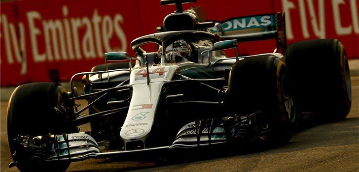 Lewis Hamilton GP Singapur