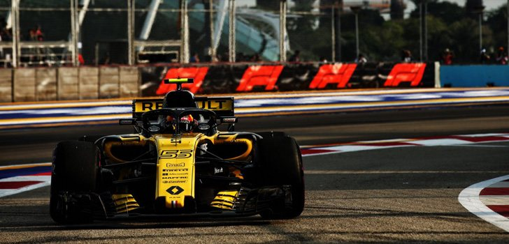 Carlos Sainz GP Singapur