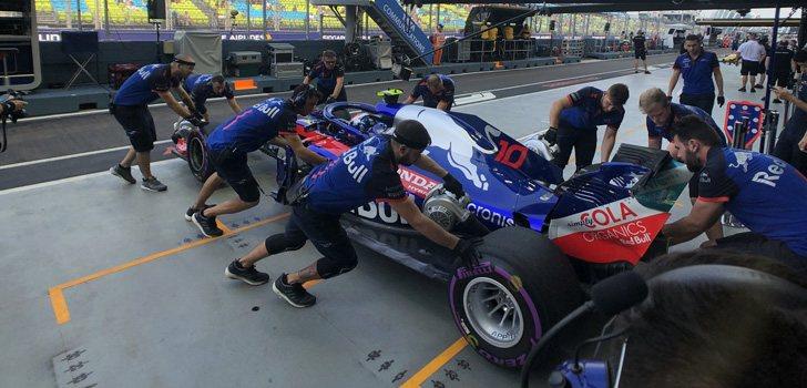 Pierre Gasly GP Singapur
