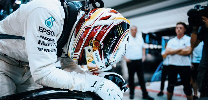 Lewis Hamilton GP Singapur 2