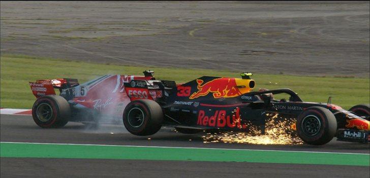 Vettel y Verstappen