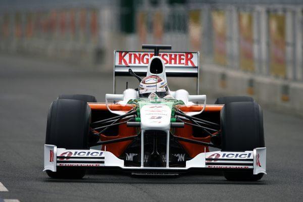 Force India presenta su nuevo VJM02