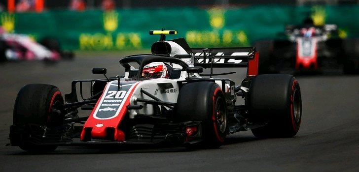 Kevin Magnussen GP México