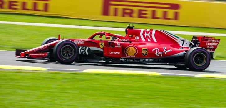 Räikkönen rueda en México