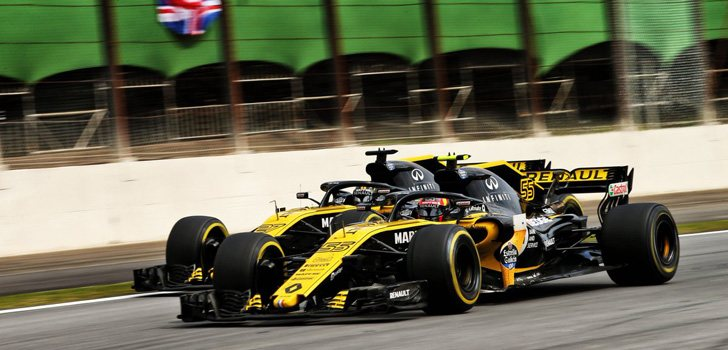 Sainz y Hülkenberg GP Brasil