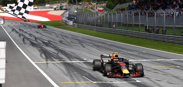 Verstappen gana en Austria