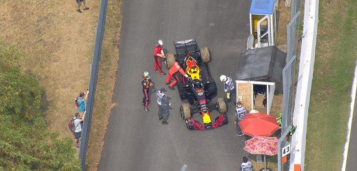 Ricciardo abandona en Alemania