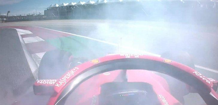 Vettel trompea en Austin