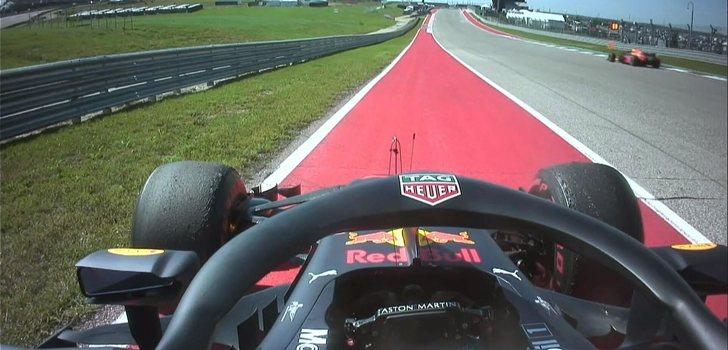 Ricciardo abandona en Estados Unidos