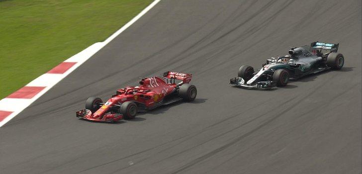 Vettel adelanta a Hamilton en México