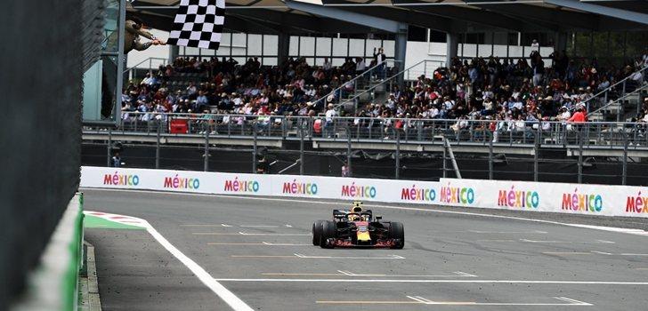 Verstappen gana en México