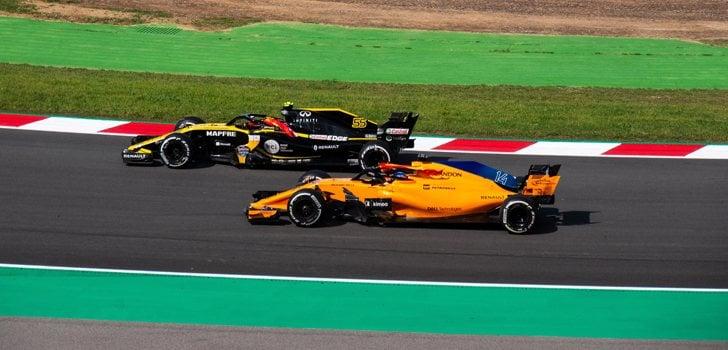 Sainz y Alonso F1 2018