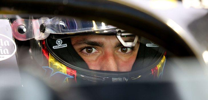 Sainz, a los mandos del Renault