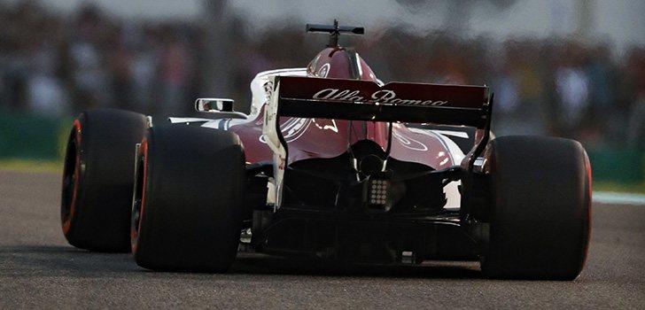 Sauber, en el pasado GP de Abu Dabi, su último GP como equipo