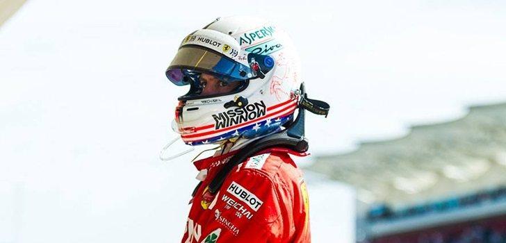 Vettel, pensativo tras el final de un GP