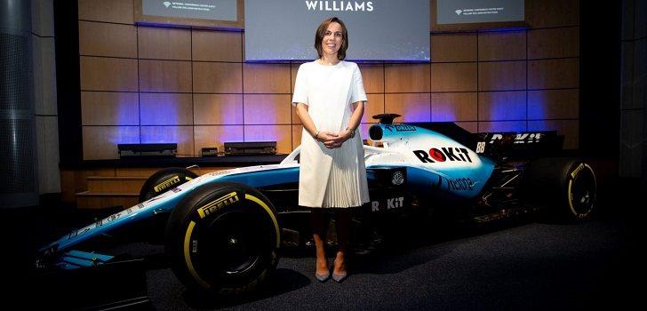 Claire Williams Presentación 2019