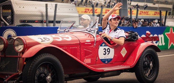 Leclerc se pasea en Singapur