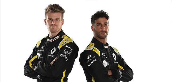 Ricciardo y Hülkenberg pilotarán el R.S.19