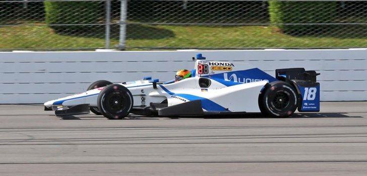 Gutiérrez rueda con Speedway