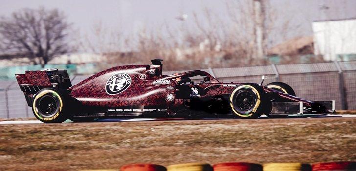 Räikkönen rueda en Fiorano con el nuevo Alfa Romeo