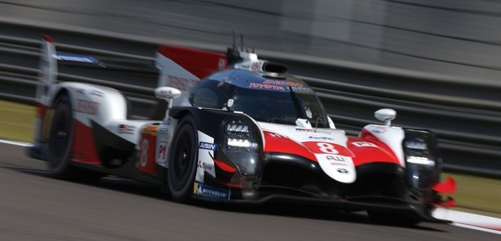Alonso, subido al Toyota número 8
