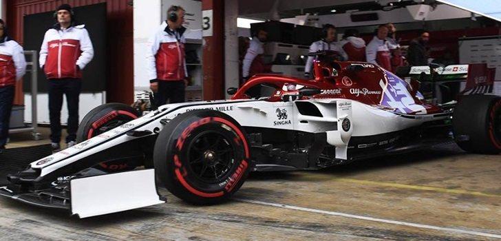 Räikkönen sale de boxes