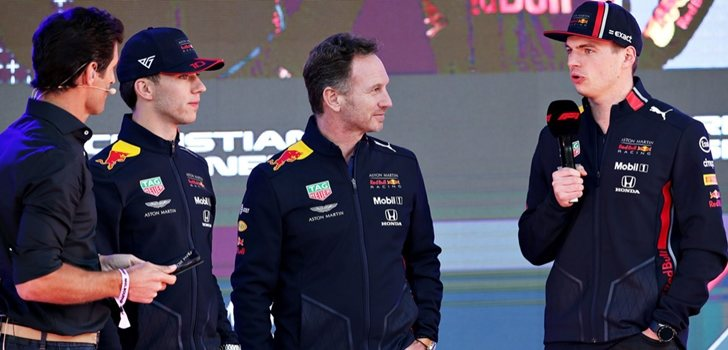 Red Bull, en la presentación de la F1