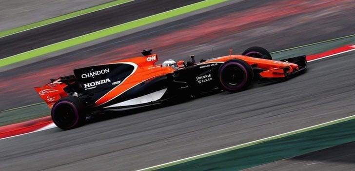 Alonso, en el McLaren-Honda