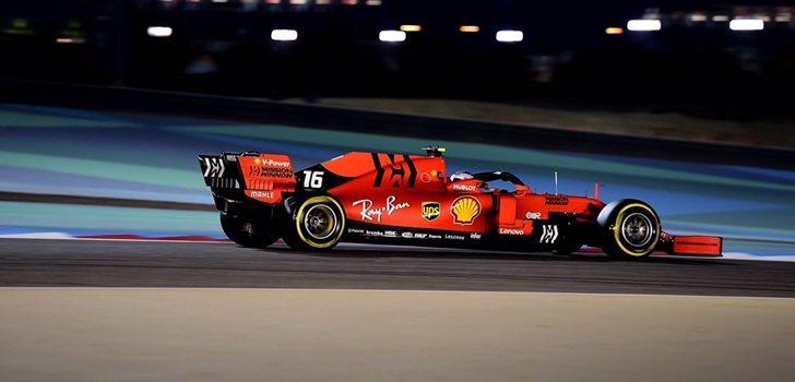 Leclerc, en la Clasificación del GP de Baréin 2019
