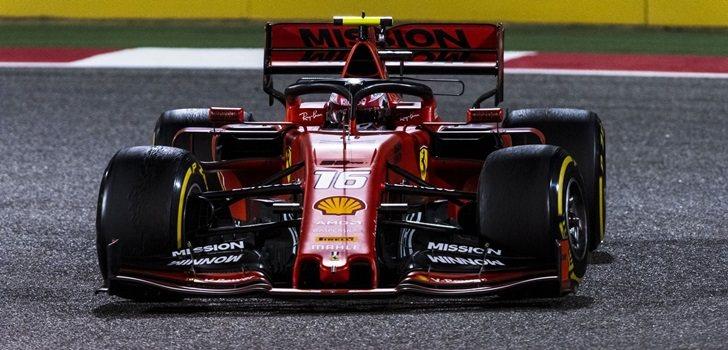 Leclerc, en Baréin 2019