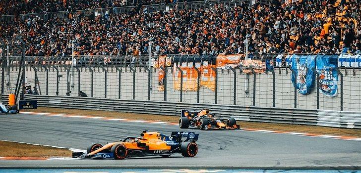 Sainz, durante el GP de China 2019