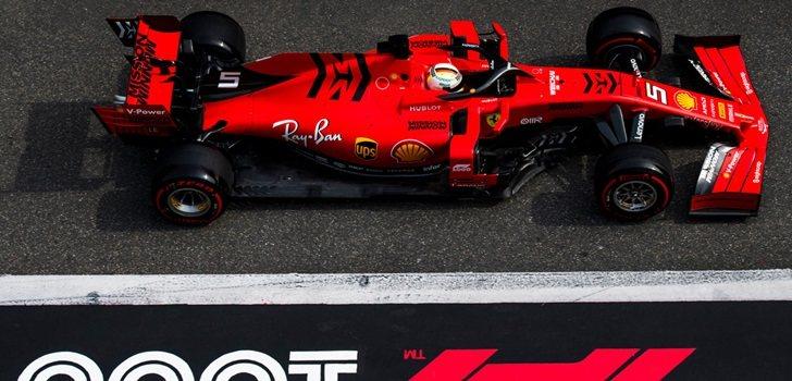 Vettel, en China