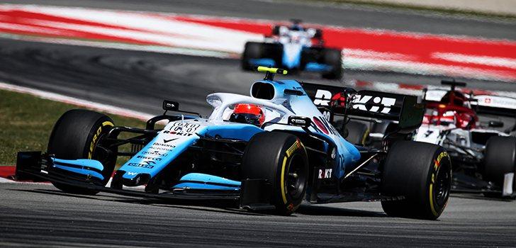 Kubica sigue sufriendo con el Williams