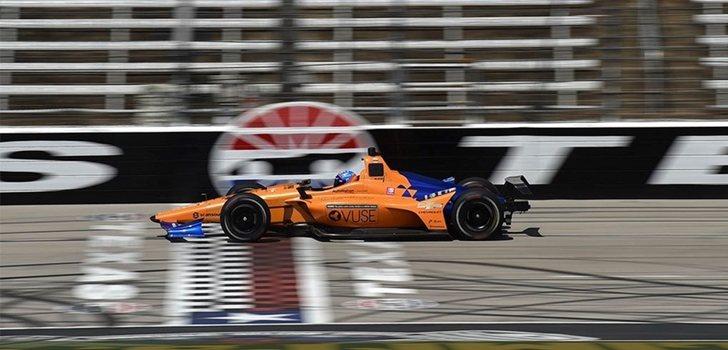 Alonso se prepara para la Indy