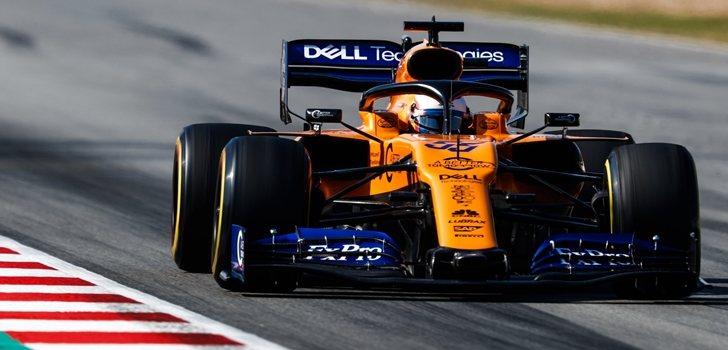 Sainz, en McLaren