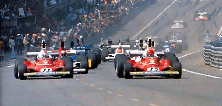 Niki Lauda, en Ferrari