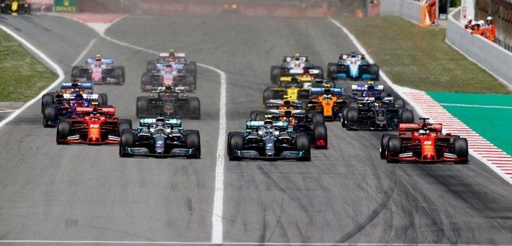 Los pilotos de F1, en España