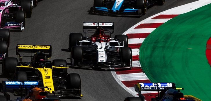 Räikkönen, en Montmeló