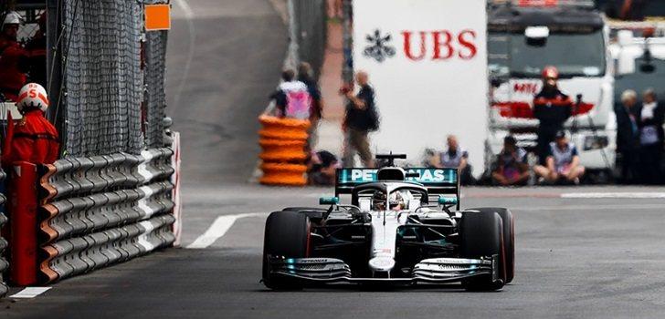 Hamilton, en los Libres 1 de Mónaco