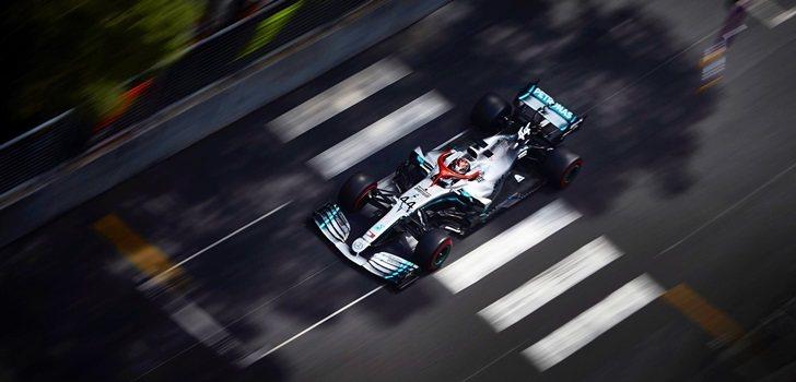 Hamilton, en la qualy de Mónaco