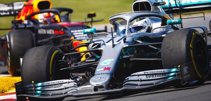 Bottas, durante el GP de Canadá 2019