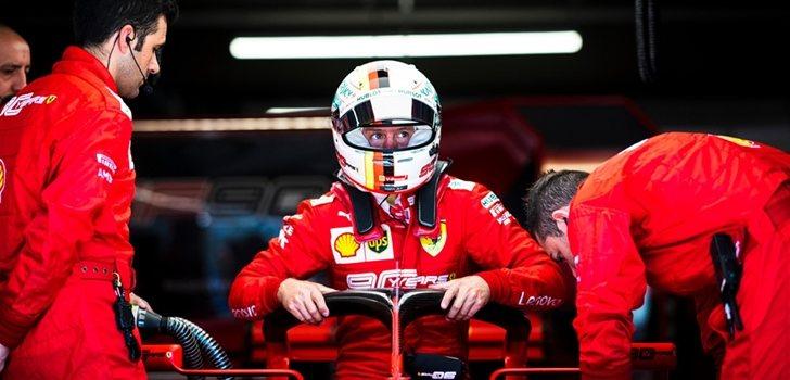Vettel se sube al SF90 en Montreal
