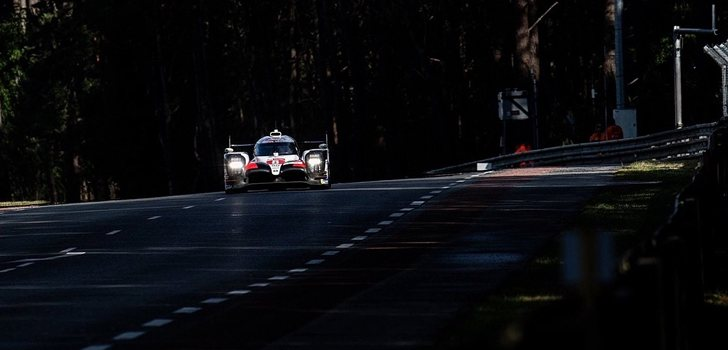 Alonso, en Le Mans 2019