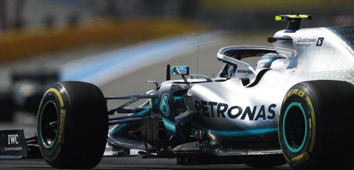 Valtteri Bottas se postula como candidato para la pole en Francia