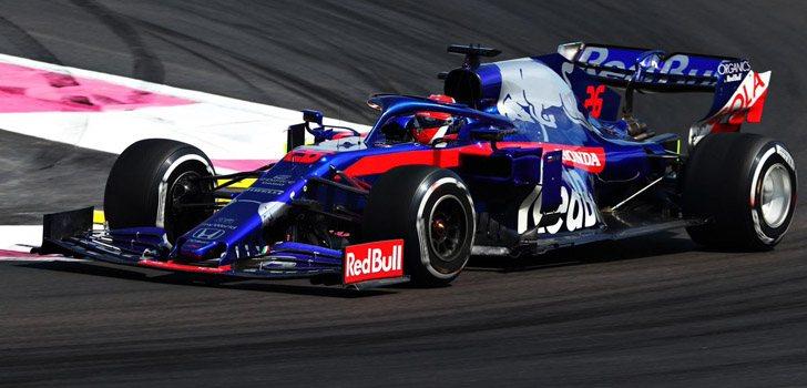 Daniil Kvyat afronta el Red Bull Ring