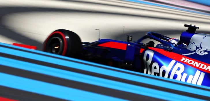 Kvyat, en el GP de Francia 2019