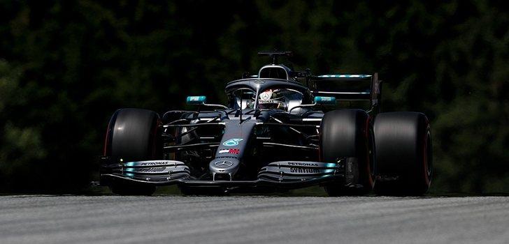 Hamilton, en los Libres 1 del GP de Austria