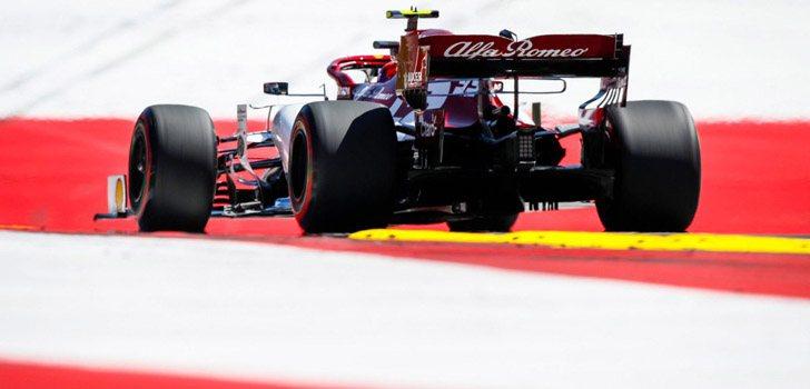Kimi Räikkönen, orgulloso del resultado de la clasificación en Austria